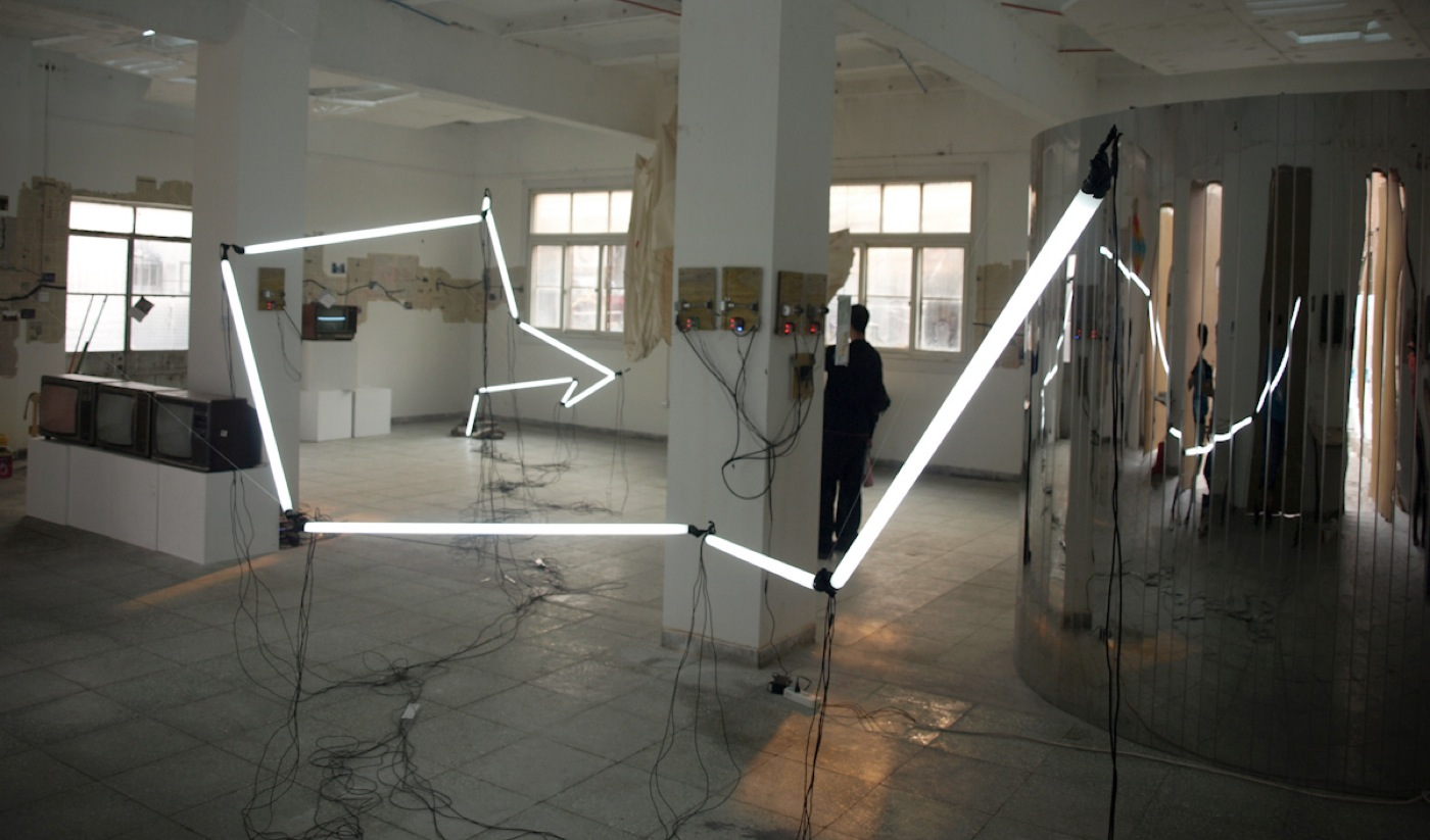 light prolapse, installation